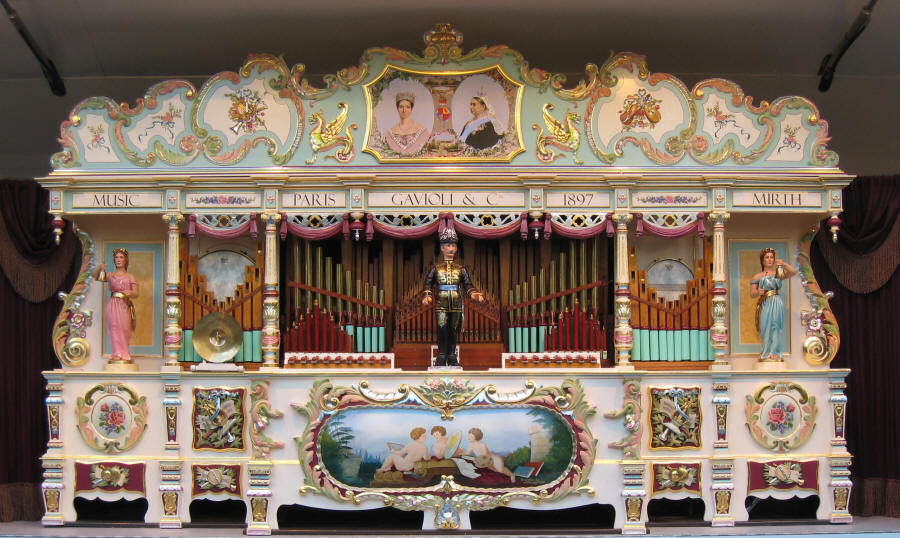 Diamond Jubilee Gavioli Organ
